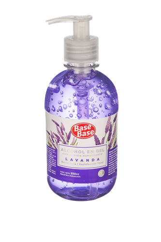 Foto ALCOHOL GEL LAVANDA BASE BASE EP 350 CC de
