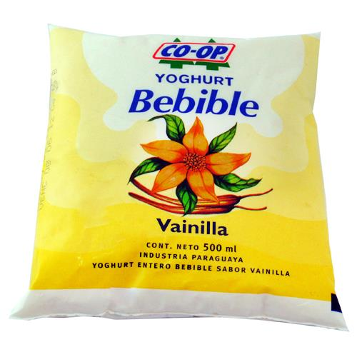 Foto YOGURT COOP BEBIBLE VAINILLA 500ML de