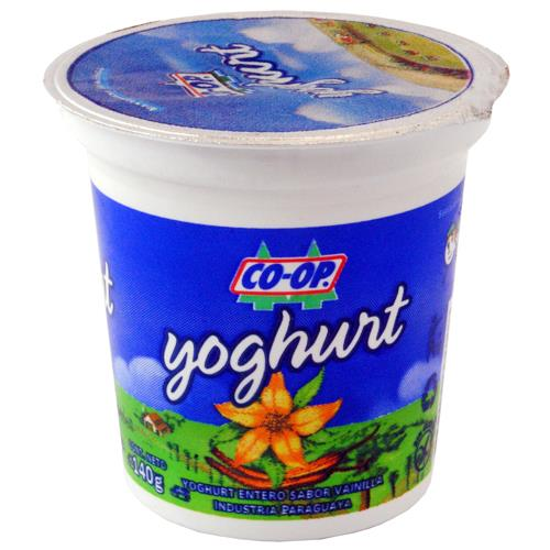 Foto YOGURT COOP ENTERO VAINILLA 350ML de