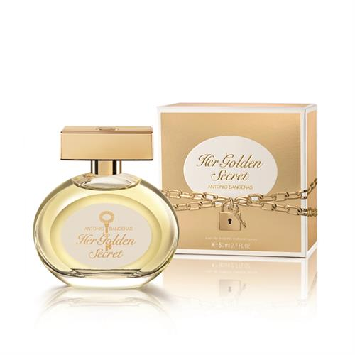 Foto PERFUME FEMENINO HER GOLDEN SECRET 50ML ANTONIO BANDERS FRA de