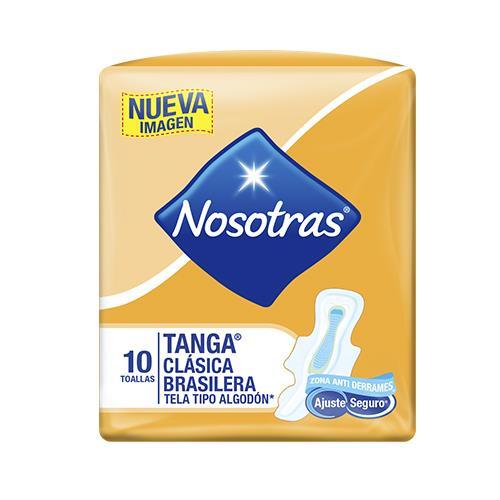 Foto TOALLA HIG NOSOTRAS TANGA TELA 10 UN de