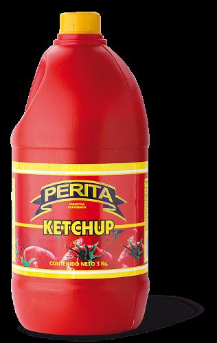 Foto KETCHUP 3KG PERITA FCO de