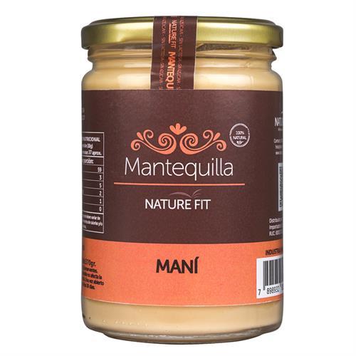 Foto MANTEQUILLA DE MANI 370GR NATURE FIT de