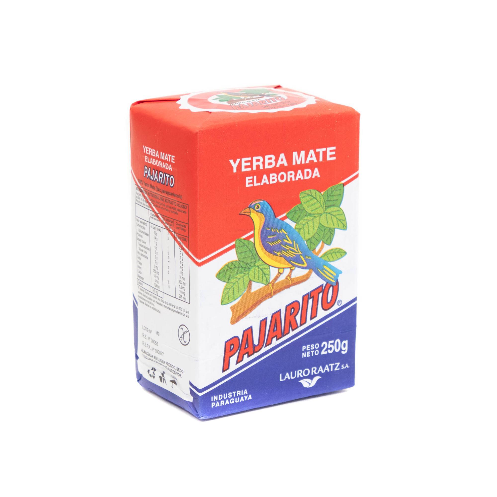 YERBA MATE PAJARITO PAQUETE 250 GR