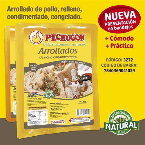 Foto ARROLLADOS DE POLLO COND. CONG. 500GR PECHUGON BJA de
