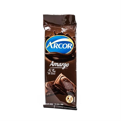 Foto CHOCOLATE TABLETA AMARGO ARCOR 50GR de