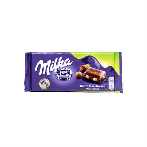 Foto CHOCOLATE TABLETA AVELL/ENTERAS 100GR MILKA PLA de
