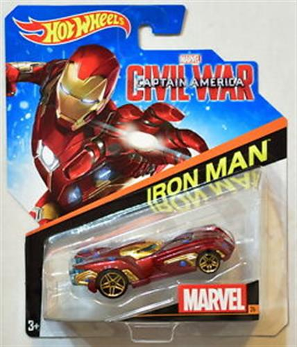 Foto AUTO TEMATICOS  MARVEL  HOTWEELS IRON MAN X UN de