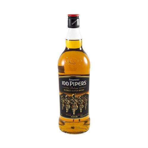 "Foto WHISKY ""100 PIPERS"" S/CAJA 1LT  de"