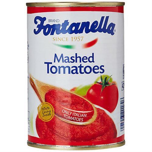 Foto PURE D/TOMATE MASHED TOMATOES 390GR FONTANELLA LAT de
