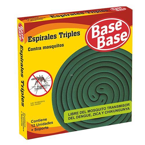 Foto ESPIRAL TRILLIZAS 12UNID BASE BASE PAQ de