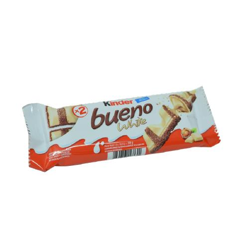 Foto CHOCOLATE KINDER BUENO WHITE 39GR PLAST de