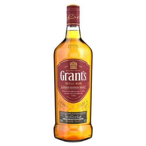 WHISKY GRANTS SIN CAJA CON GOTERO 1LT