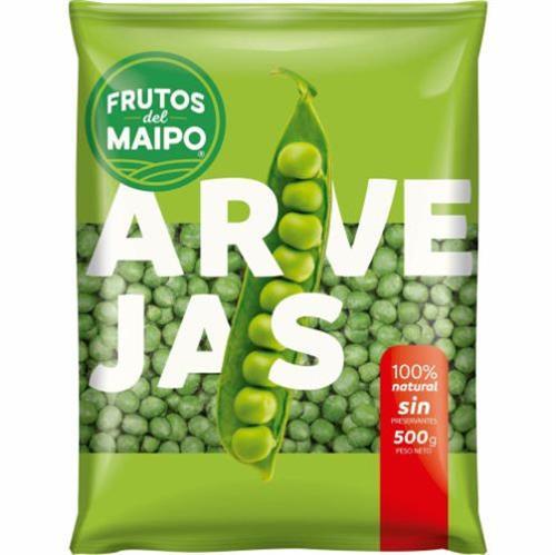 Foto ARVEJAS 200GR FRUTOS DEL MAIPO PAQ de