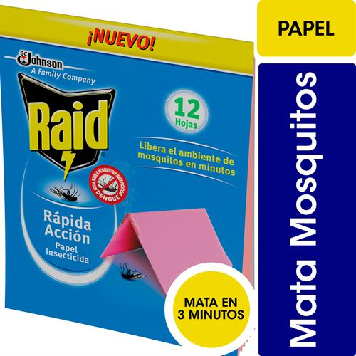Foto PAPEL INSECTICIDA 12UND RAID BSA de