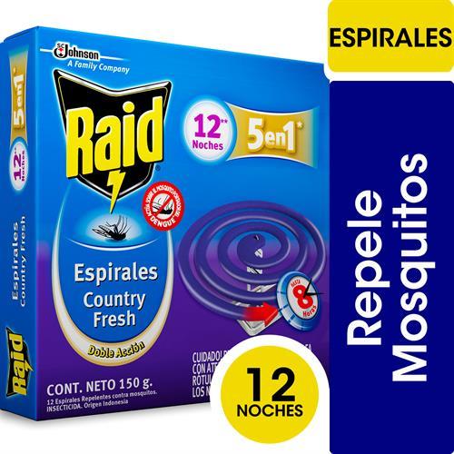 Foto ESPIRAL DOBLE ACCION 150GR RAID CJA de