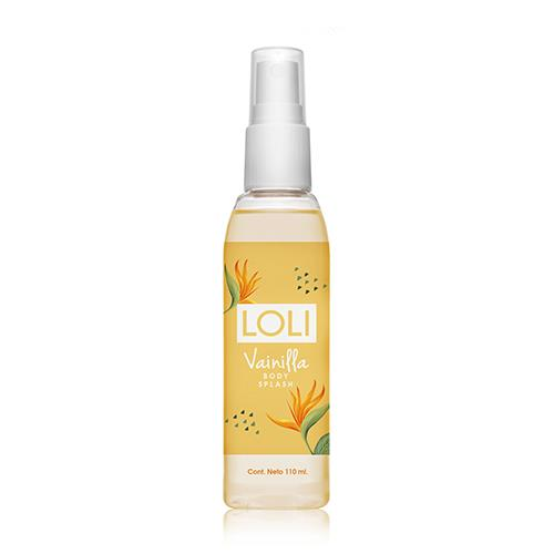Foto BODY SPLASH VAINILLA 110ML LOLI FCO de
