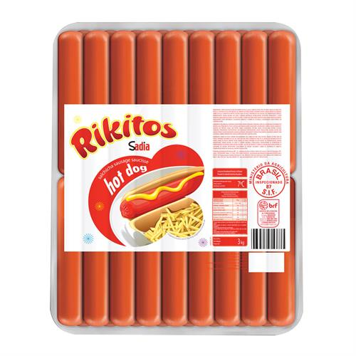 Foto SALCHICHA HOT DOG RIKITOS X KG de