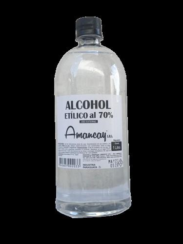 Foto ALCOHOL AL 70 % REPUESTO AMANCAY 1LT PLAST de