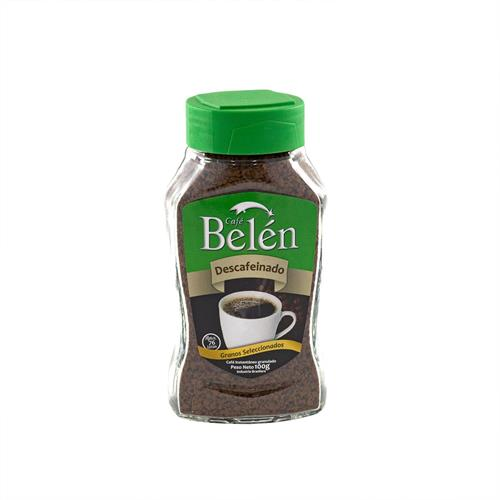Foto CAFE INST DESCAFEINADO 100GR BELEN FCO de