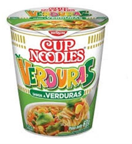 Foto NISSIN CUP NOODLES SOPA SABOR VERDURAS 67GR de