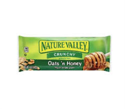 Foto BARRA DE CEREAL GRANOLA CRUNCHY OATS N HONEY 42GR NATURE VALLEY PLA de