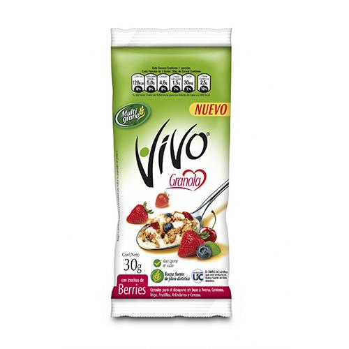 Foto GRANOLA BERRIES 30GR VIVO de