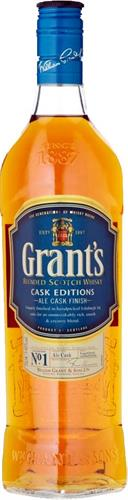 Foto WHISKY ALE CASK FINISH 750ML GRANTS BOT de