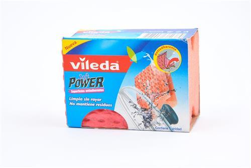 Foto ESPONJA SOFT POWER VILEDA SALVAUÑAS BLI de