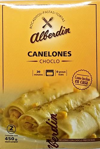Foto CANELONES D/CHOCLO 450GR ALBERDIN CJA de