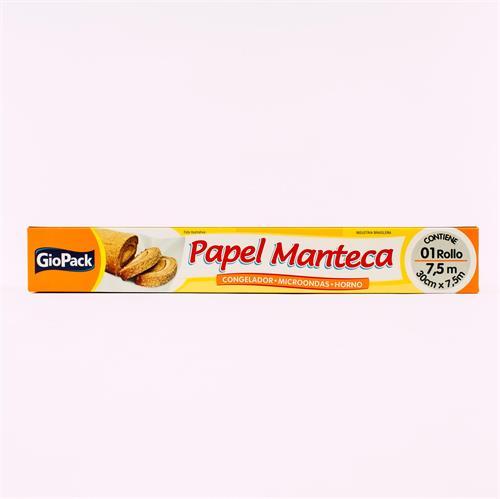 Foto PAPEL MANTECA 30CMX7.5M 25 GIOPACK de