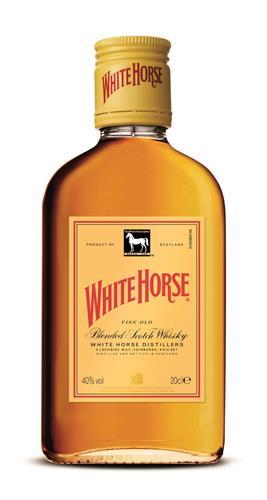 "Foto WHISKY ""WHITE HORSE"" 200ML de"