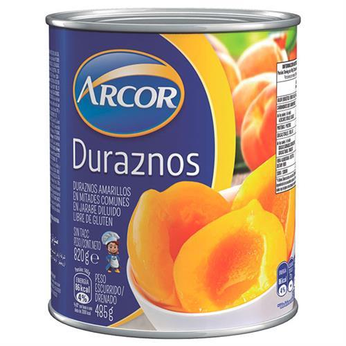Foto Duraznos en almíbar ARCOR 820 gr. de