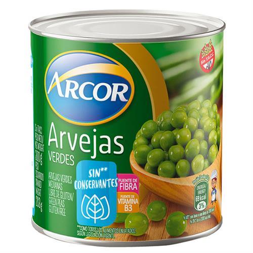 Foto ARVEJAS SECAS REMOJADAS 203 GR ARCOR de