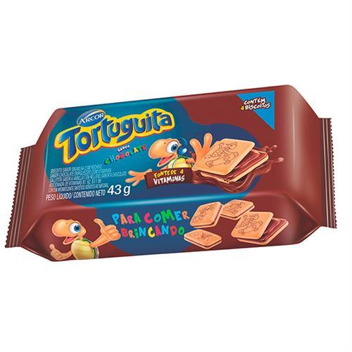 Foto GALLETITA RELLENA SAB/CHOCOLATE TORTUGUITA 43GR PLAST de