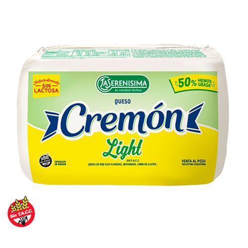 Foto QUESO CREMON FRAC LIGHT 500GR LA SERENISIMA S/E de