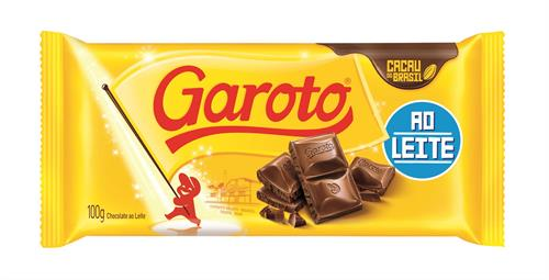 Foto GAROTO TABLETA DE CHOCOLATE BLANCO 90 GR de