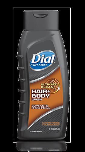 Foto GEL DE DUCHA DIAL HAIR FOR MEN 473ML de