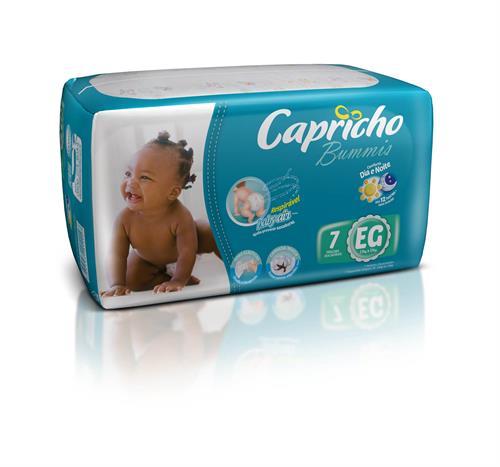 Foto PAÑAL BABY 7UN EG CAPRICHO BUMMIS PAQ  de