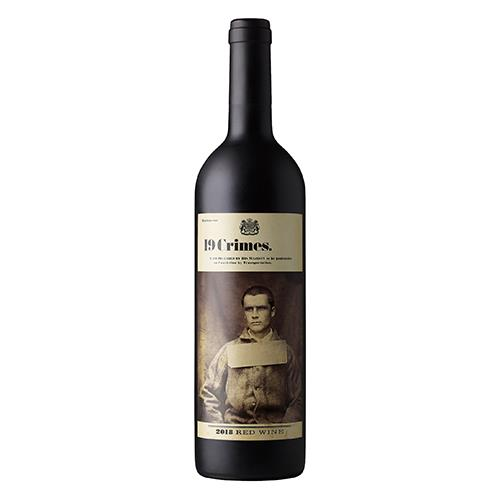 Foto VINO TINTO 19 CRIMES 750ML BOT de