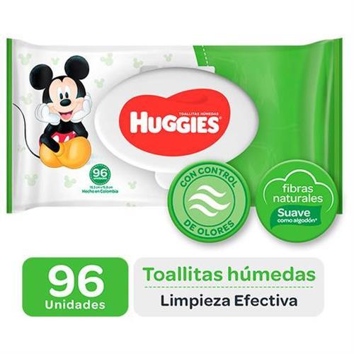 Foto TOALLITAS HUMEDAS LIMPIEZA EFECTIVA 96UN HUGGIES PAQ de