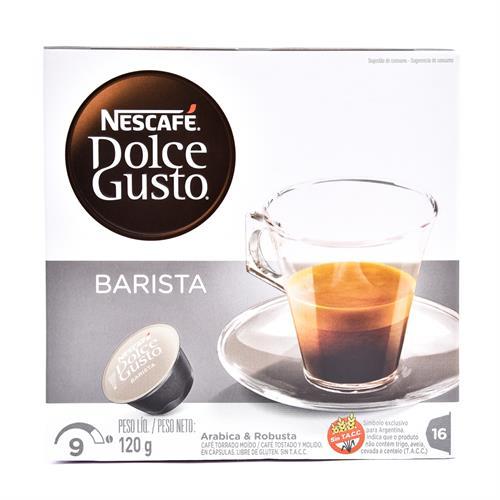 Foto CAFE NESCAFE DOLCE GUSTO BARISTA 120GR CJA de