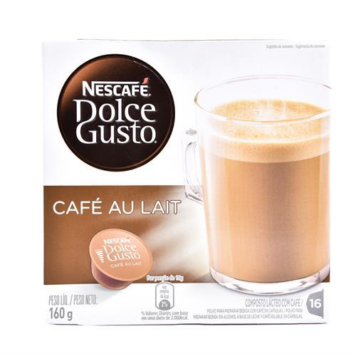 Foto CAFE C/LECHE 160GR NESCAFE DOLCE GUSTO CJA de
