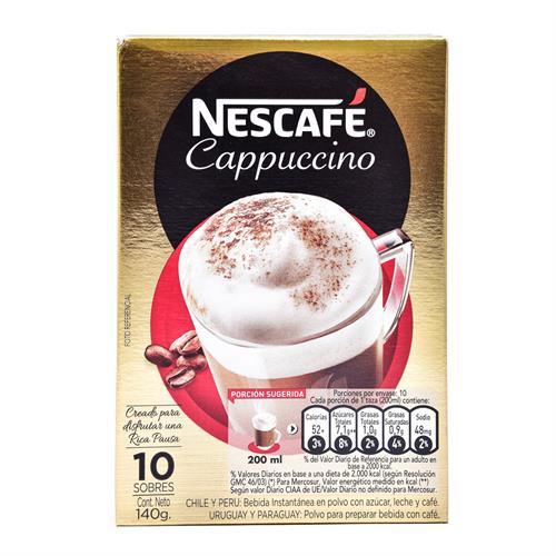 Foto CAFE CAPPUCCINO 140GR NESCAFE SACHET de