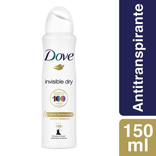 Foto DESODORANTE INVISIBLE DRY AEROSOL 150ML DOVE de