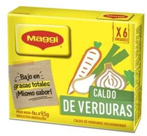 Foto CALDO DE VERDURAS 114 GR MAGGI CJA de