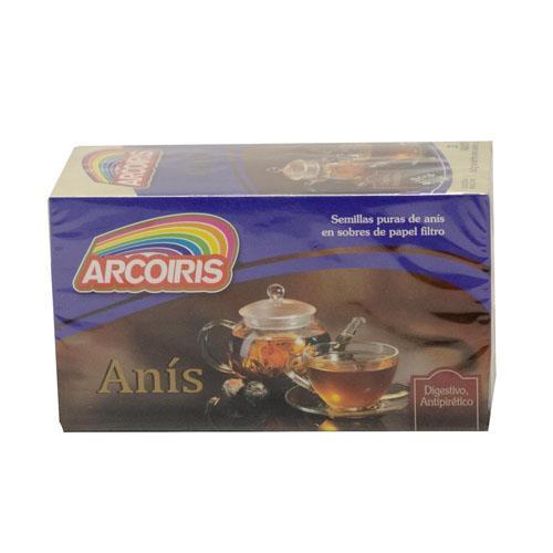 Foto TE DE ANIS ARCO IRIS CAJA 20 X 2 GR  de