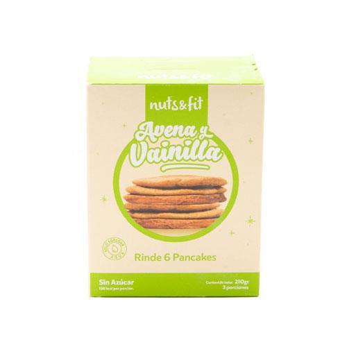 Foto Pancakes de Avena y Vainilla 210gr NUTS FIT de
