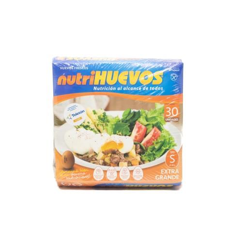 Foto HUEVO NUTRIHUEVOS PAQUETE 30UN de