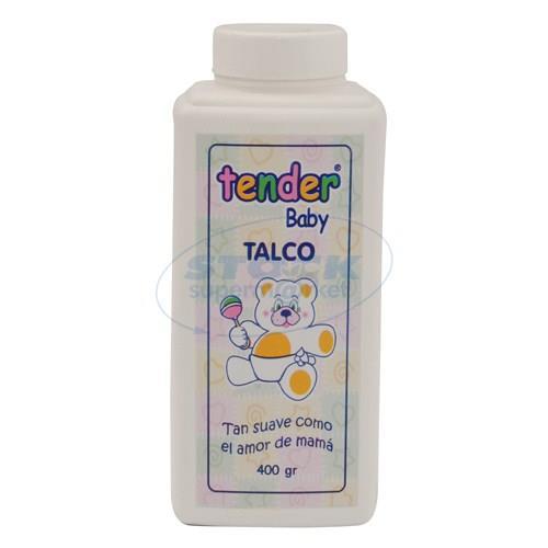 Foto TALCO BEBE TENDER FRASCO 400 GR de